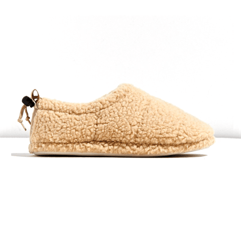 Shallow mouth comfy flat slipper
